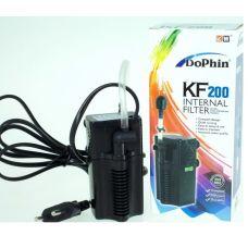 Dophin KF-200 (KW) Внутренний фильтр с регулятором, 3,2 вт., 240 л/ч