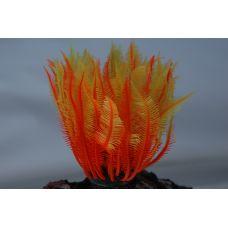 Коралл силиконовый желто-красный 4х4х12см
