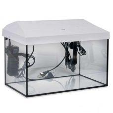 Аквариум  LEDDY SET  40  прямой / белый  (25 л) (LT 1x6W Sunny)