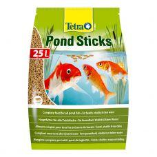Корм для прудовых рыб Tetra Pond Sticks основной гранулы (мешок) 25л