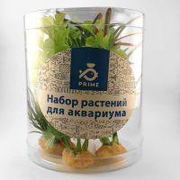 Набор пластиковых растений PRIME 4 шт. (70533)