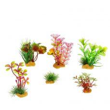 Набор пластиковых растений PRIME (6 шт.)