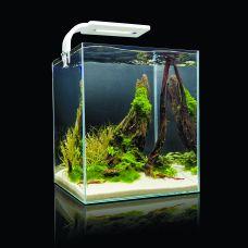 "Aквариум Aquael ""Shrimp Set Smart Led Plant Ll 10"", с освещением, цвет: белый, 10 л"