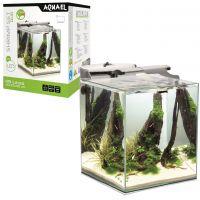 AQUAEL Аквариум Shrimp Set DUO LED/49л белый, 35х35х40см.
