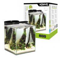 AQUAEL Аквариум Shrimp Set DUO LED/49л черный, 35х35х40см.