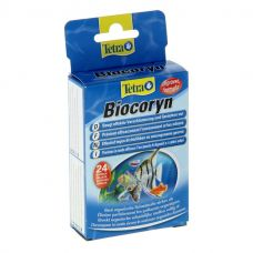 BIOCORYN 24 капсул, кондиционер для разложения органики на объем 1200л