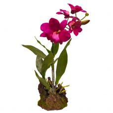 Искусственное растение, Орхидея пурпурная, 35см
