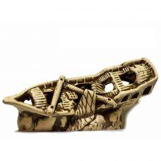 Корабль на грунте 25x10x11см