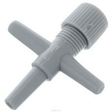 Краник тройник D=4 мм