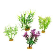 Набор пластиковых растений PRIME 4шт. (№2)