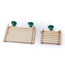 Плотик для черепах деревянный, xl