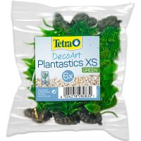 Растение пластиковое мини Tetra DecoArt Plant XS Green Refill 6см зеленое