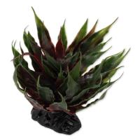 Растение пластиковое зеленое Агава 18 см
