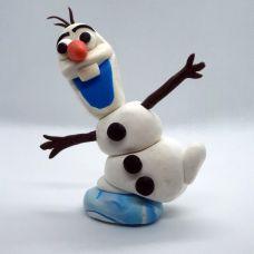 Снеговик Олав (Холодное Сердце) декор