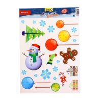 Стикер Tetra DecoArt StickerSet Winter