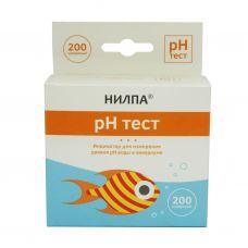 """""""Тест pH"""" - тест для измерения уровня кислотности воды"""