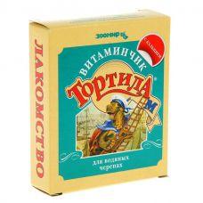 """ТОРТИЛА М """"Витаминчик"""" с кальцием для водяных черепах, 30 г."""