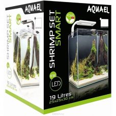 Aквариум SHRIMP SET SMART LED PLANT ll 20 / белый (19 л)