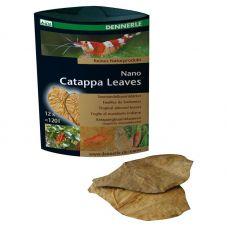 Dennerle Nano Catappa Leaves, 12 шт., листья миндаля