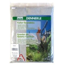 Грунт Dennerle Color Quartz Gravel светло-серый 5кг
