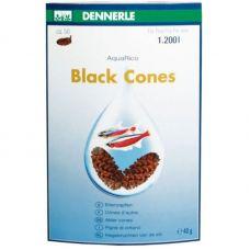 Ольховые сережки Dennerle Aqua Rico Black Cones, 50 шт.