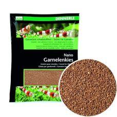 Грунт Dennerle Nano Garnelenkies Sumatra brown 2кг