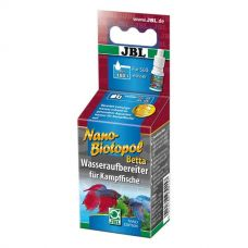 JBL NanoBiotopol Betta, 15 мл - репарат для подготовки воды в аквариумах с бойцовыми рыбками (петушками)