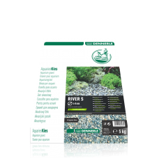 Грунт Dennerle Nature Gravel PlantaHunter River S 5кг 4-8мм