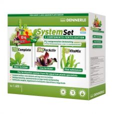 Dennerle Perfect Plant System Set, на 1600 л, Комплект из 3 препаратов для ухода за растениями