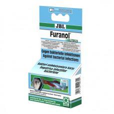 JBL Furanol Plus 250, 20 таб, Препарат против бактериальных инфекций