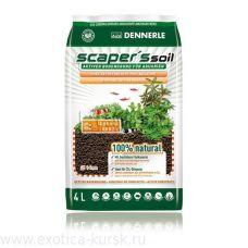 Питательный грунт Dennerle Scaper's Soil 1-4мм 4л