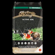 Питательный грунт Dennerle Shrimp King Active Soil 8л