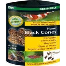 Dennerle Nano Black Cones, 25 шт., Ольховые сережки