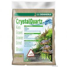 Грунт Dennerle Kristall-Quarz природный белый 10кг