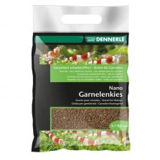 Грунт Dennerle Nano Garnelenkies Java green 2кг