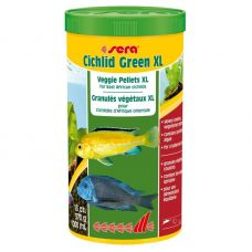 Корм для рыб CICHLID GREEN XL 1 л (370 г)