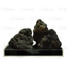 Камень UDeco Black Lava MIX SET 15