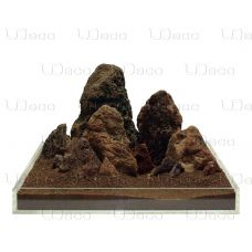 Камень UDeco Brown Lava MIX SET 12