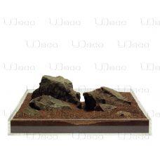 Камень UDeco Brown Stone S 5-15см 1шт