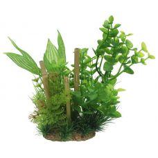 Композиция из искусственных растений ArtUniq Bacopa & bamboo 20